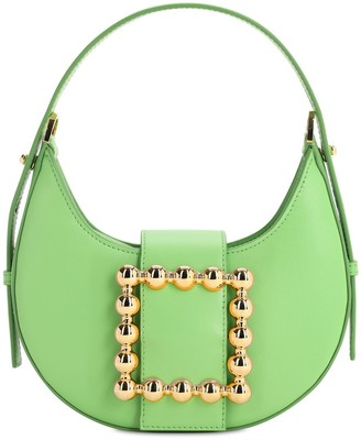Les Petits Joueurs Cindy Smooth Leather Bag