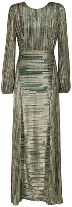 Rotate by Birger Christensen Lisa Lurex Midi Dress