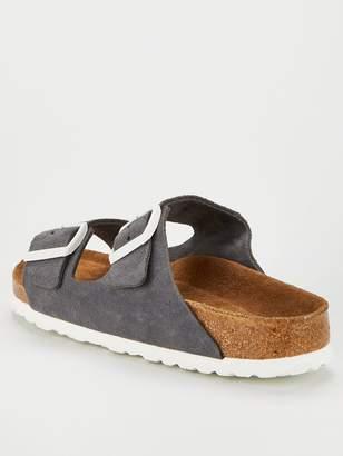 Birkenstock Arizona Soft Footbed Flat Sandals - Gunmetal
