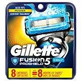 Gillette Fusion5 ProShield Chill Men's Razor Blades - 8 Refills (Packaging May Vary)