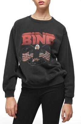 Anine Bing Vintage Bing Graphic Sweatshirt