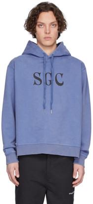Stolen Girlfriends Club Blue SGC Pouch Hoodie