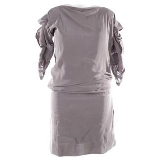 Haider Ackermann Grey Synthetic Dresses