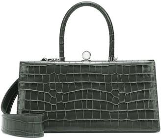 Ratio et Motus Sister croc-effect leather shoulder bag