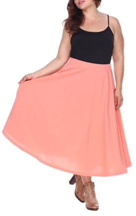 38f9a2a700 Coral Midi Skirt - ShopStyle