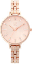 INC International Concepts Women's Rose Gold-Tone Bracelet Watch 34mm IN013RG, Only at Macy's
