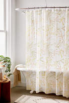 Urban Outfitters Kelly Leaves PEVA Shower Curtain