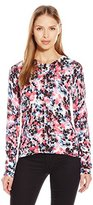 NYDJ Women's Printed Button Front Cardigan