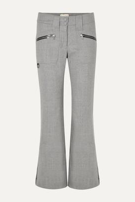 Erin Snow Parker Wide-leg Merino Wool Ski Pants