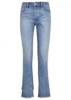 Tory Burch Serena Blue Straight-leg Jeans
