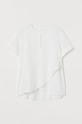 H&M MAMA Cotton nursing blouse