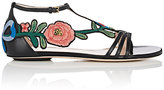 Gucci Women's Ophelia Leather T-Strap Sandals