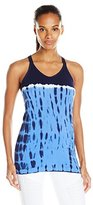 Spalding Women's Colorblock Tie Dye Seamless Tank