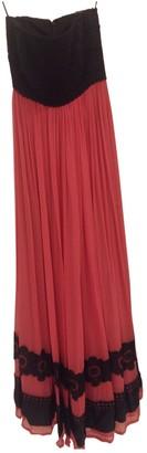 Costarellos Pink Silk Dress for Women