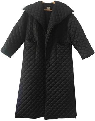 Totême Annecy Black Coat for Women