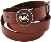 MICHAEL Michael Kors Belt With Tortoise Plaque XL