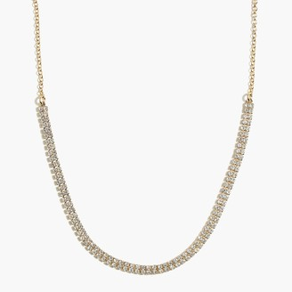 J.Crew Crystal choker necklace