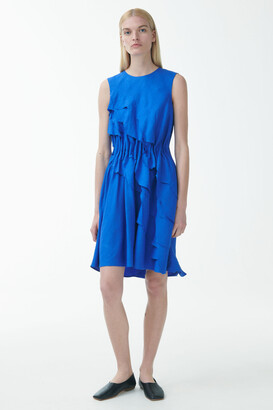 Cos Layered Linen Dress
