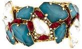 Erickson Beamon Crystal Embellished Cuff Bracelet