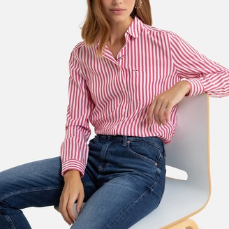 Tommy Jeans Straight Fit Striped Shirt