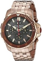 Tommy Bahama Men's 10018295 Big Island Diver Chronograph Analog Display Japanese Quartz Rose Gold Watch