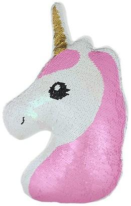 Capelli New York Sequin Unicorn Pillow