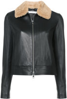 Vince jacket with fur collar