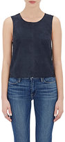 Frame Women's Le Wrap Back Tank-NAVY