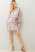 A Love Like You Ditsy Floral Ruffle Mini Dress Multi S