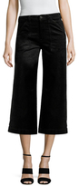 7 For All Mankind Velvet Cropped Culottes