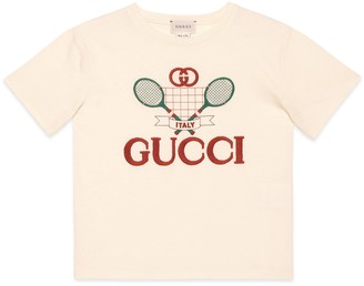 Gucci Children's T-shirt with Tennis