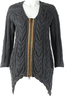 Yigal Azrouel Grey Wool Jacket for Women