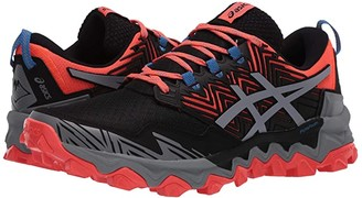 Asics GEL-Fujitrabuco(r) 8 (Flash Coral/Sheet Rock) Women's Running Shoes