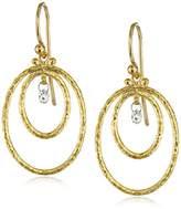 Gurhan Glow Double-Oval Diamond Hoop Earrings (1/5cttw, H-I Color, SI1 Clarity)