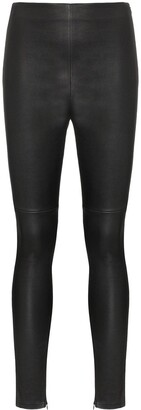 Lot Lthr Amelie stretch-leather leggings
