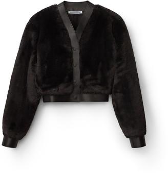 alexanderwang.t Faux Fur Cardigan