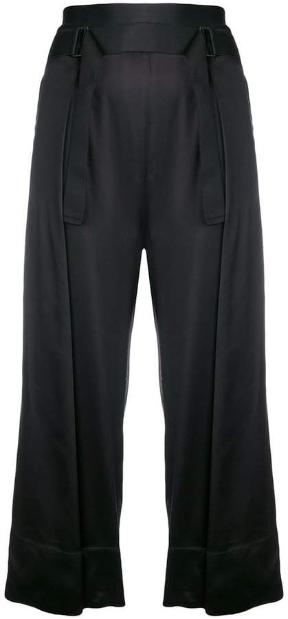 Ann Demeulemeester belted culottes