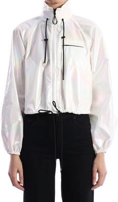 Kenzo Windproof Jacket Pearl