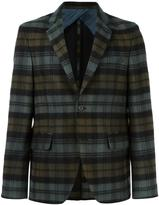 Golden Goose Deluxe Brand plaid blazer - men - Polyester/Cupro/Viscose/Wool - S