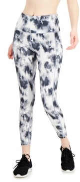 Ideology Tie-Dyed Pocket Leggings, Created for Macy's