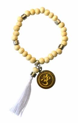 Saraswati Unisex No Metal Stretch Bracelet - AM104
