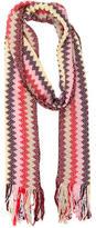 Missoni Multicolor Stripe Pattern Scarf