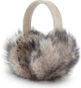 Karl Donoghue Ladies Grey Luxury Foxy Toscana Lambskin Earmuffs