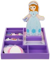 Melissa & Doug Disney Sofia the First Wooden Magnetic Dress-Up Doll by