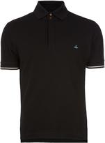 Vivienne Westwood Overlock Polo Shirt Black size XS