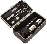 F. HAMMANN Leather shaving and manicure set