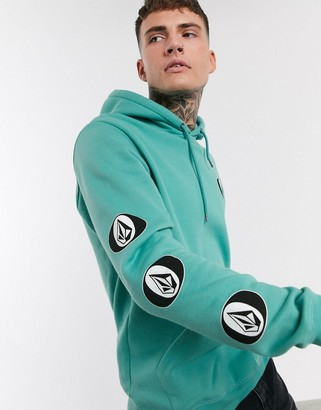 Volcom Supply Stone hoodie in green
