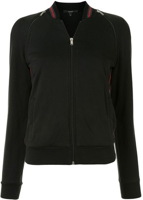 Gucci Pre Owned Zipped Slim-Fit Sweatshirt