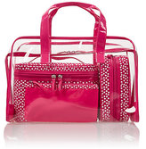 M&S Collection 4 Pink Spot Cosmetic Bag Set