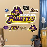 Fathead East Carolina Pirates Wall Decals